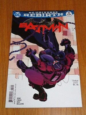 Batman #18 Dc Universe Rebirth Variant Nm (9.4)