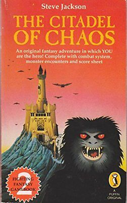 Fighting Fantasy 2 The Citadel of Chaos Paperback Book The Cheap Fast Free Post