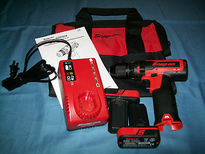"""NEW Snap-on™ Lithium Ion CDR761A 14.4 V 3/8"""" drive CordLESS Drill Driver OpenBox"""