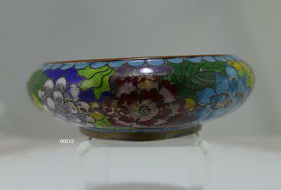 Lovely Old Chinese Cloisonné Bowl, c 1910 - 00013