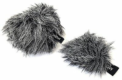 Movo WS-G10 Furry Microphone Windscreen Muff Fit for Shure Motiv MV88 iOS Mic