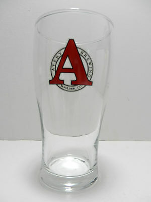 Avery Brewing Company Pint Beer Glass Boulder Colorado Brewery