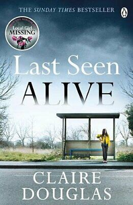 Last Seen Alive by Douglas, Claire Book The Cheap Fast Free Post