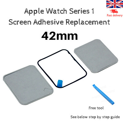 Apple Watch Series 1 Screen Adhesive 42mm + Free Tool