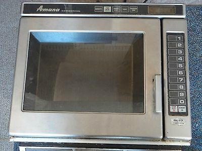 Amana Commercial Microwave Oven RC17 1700 Watts