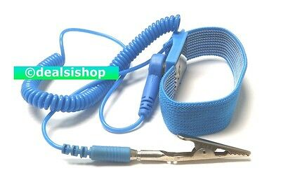 Anti-Static Wrist Band Strap Discharge Grounding Wire Prevents Static Shock ESD