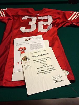 1993 Ricky Watters San Francisco 49ers Game Worn Jersey - Photomatched / TeamLOA