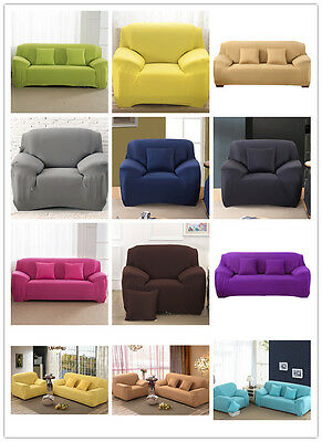 SF Lot L Shape Stretch Elastic Fabric Sofa Cover Sectional Corner Couch Covers