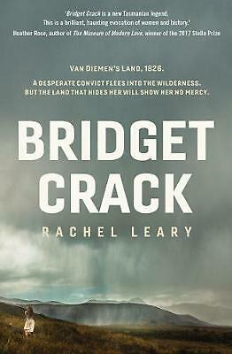 Bridget Crack by Rachel Leary Paperback Book Free Shipping!