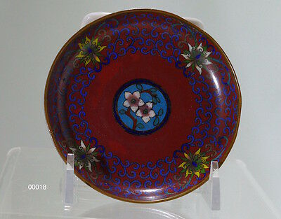 Very Old Chinese Fine Cloisonné Dish China, c 1900 - 00018