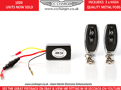 Aston Martin S4 Exhaust By-pass Remote Control V8 Vantage  Fuse22  Fuse15