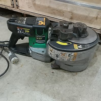 Hitachi VB16Y Portable Rebar Bending and Cutting Machine