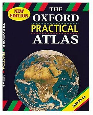 The Oxford Practical Atlas by Anon Paperback Book The Cheap Fast Free Post