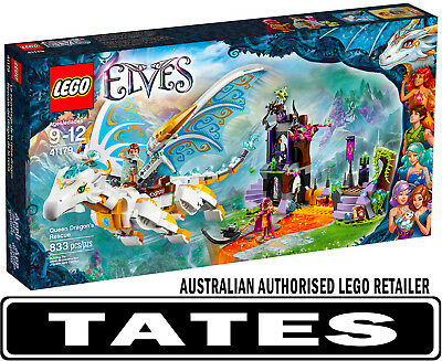 LEGO 41179 Queen Dragons Rescue Elves from Tates Toyworld