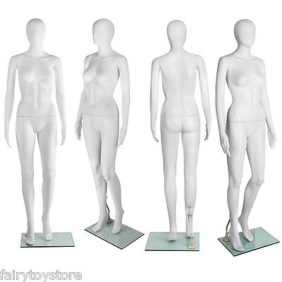 Full Body Size Female Mannequin Model 175cm Clothes Display Dressmaking Showcase