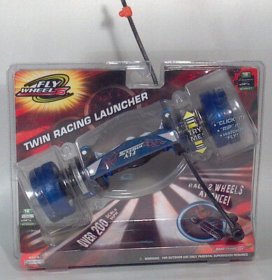 "Road Champs Fly Wheels Twin Racing Launcher Blue 18"" Panther Race Two Wheels"