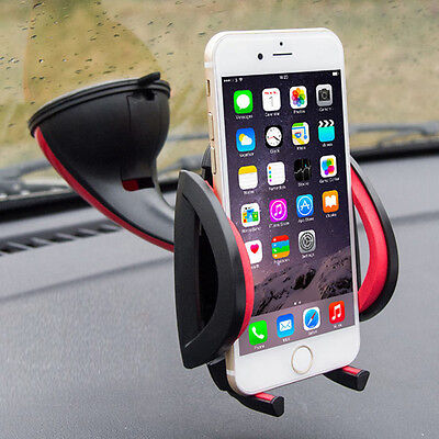 360° Universal 2in1 Car Windscreen Dashboard Mount Holder For Mobile Phone GPS
