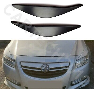 Vauxhall Opel Insignia 2008-2013 PRE-FACELIFT Headlights Eyebrows, ABS PLASTIC