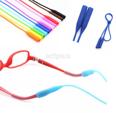 New Silicone Neck Strap Cord Glasses Spectacles Lanyard Holder Accessory CA