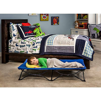 Portable Toddler Bed Kid Folding Travel Cot Lightweight Indoor Outdoor Camping