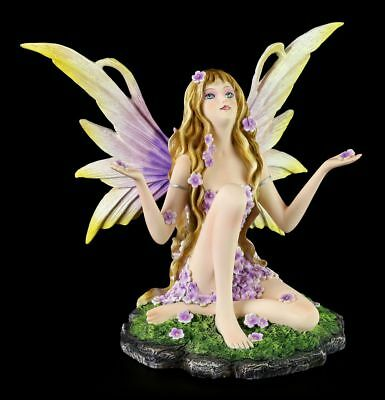 Fairies Figurine - Spring - Primavera - Elf seated Decor Statue Fantasy