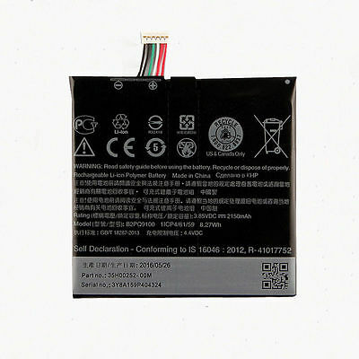 B2PQ9100  Replacement Battery For Telstra Signature Premium / HTC One A9 AU