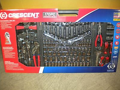 Cresent Mechanics Tool Kit Ctk170Mp