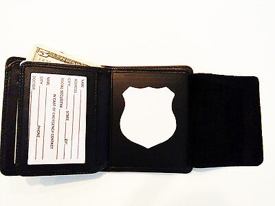 NYPD Police Style Badge Wallet RFID BiFold Blackinton B-41 or S-202 BIW10