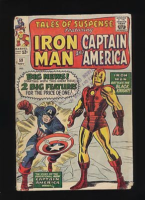 Tales of Suspense #59 (Marvel Comics 1964)! 1ST APP JARVIS! SEE PICS AND SCANS!