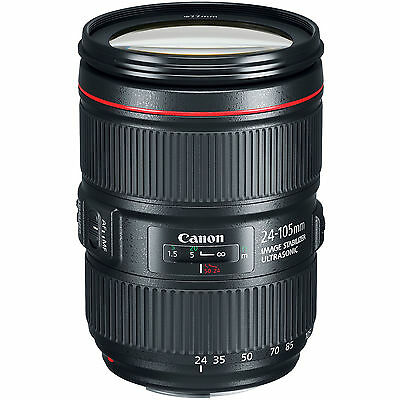Clearance Deal Sale 24-105 mm Canon Ef 24-105mm F/4 Ii Is L Usm Lens White Box