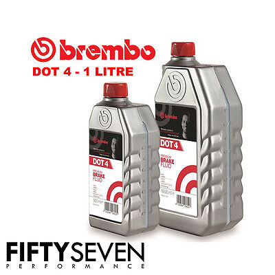 Brembo Premium Fully Synthetic Brake And Clutch Fluid Dot 4/Dot4 1L/500ml