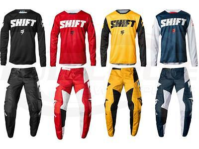 Shift MX Racing Whit3 Ninety Seven Jersey & Pant Motocross ATV/MTB Off Road 2018