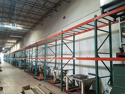 "PALLET RACK CROSS BEAM 96""Long (FOR TEARDROP UPRIGHTS)"