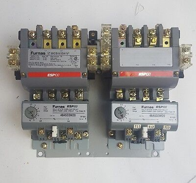 Furnas ESP100  Overload Relay with Phase Loss Circuit 30CS++32A1V 48ASD320, USED