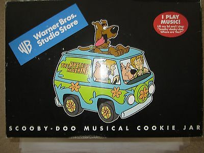 Scooby Doo Mystery Machine Musical Cookie Jar Shaggy Scrappy Warner Bros Store
