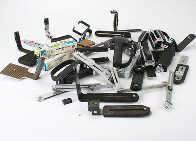Grab Bag Lot Of Flash Brackets, Unsorted, Unchecked/195911