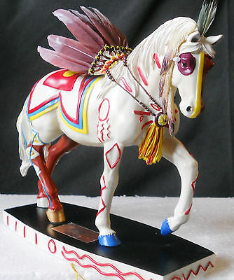 NIB WESTLAND 2010 FIGURINE WARRIOR #806 of 10,000 Horse of a Different Color