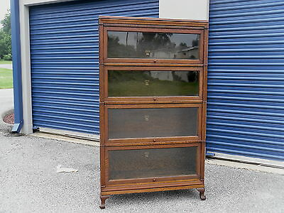 Macey's Tiger Oak Barrister Stacking Bookcase Great Original Condition