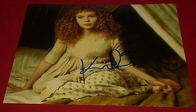 Kirsten Dunst Signed Interview With The Vampire Classic Still Photo B Auto Coa