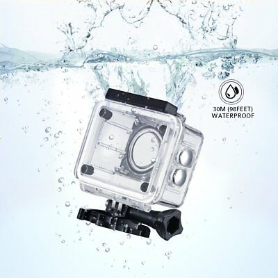 Underwater Waterproof Protective Housing Case Cover for Action Sport Camera US