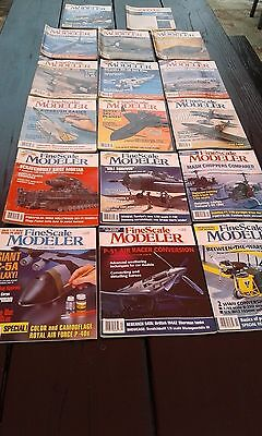 FineScale Modeler Magazines Total of 17 Back Issues from 1993, 1994 and 1995