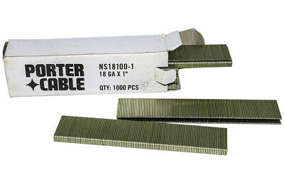 "Porter-Cable PC-NS18100-1 porter cable 18 Gauge 1/4"" crown x 1"" leg PC-NS181001"
