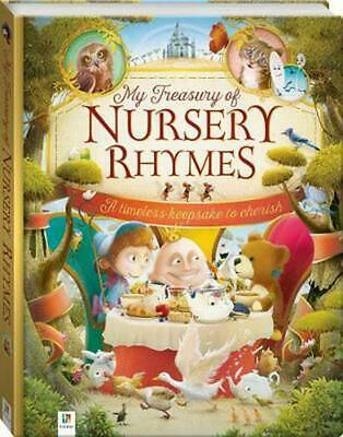My Treasury of Nursery Rhymes: A timeless keepsake to cherish Hardcover Book Fre