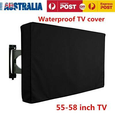 "55-58"" Inch Television Protector Case Dustproof Waterproof  TV Cover In/Outdoor"