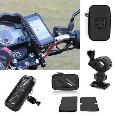 Waterproof GPS SAT NAV Case Bag Mount Holder Motorbike motorcycle Bike Hot Sale