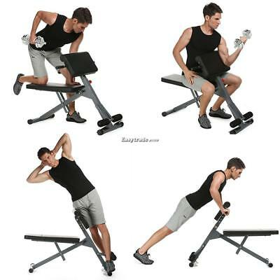 Swell Stamina Pro Hyper Extension Workout Bench Exercise Core Abs Ibusinesslaw Wood Chair Design Ideas Ibusinesslaworg
