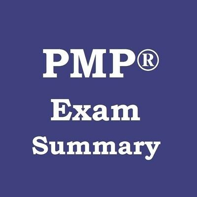 PMP Exam Brain Dump / Summary Sheet based on Latest PMI Syllabus & PMBOK 6th Ed