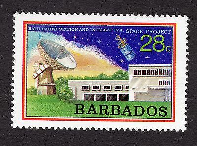 1979 Barbados 28c bath earth station space project SG642 MNH R31348