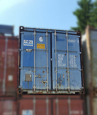 40' Lagercontainer / Schiffscontainer / Materialcontainer mit Portaltür