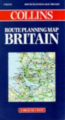 Collins Route Planning Map: Britain Sheet map Book The Cheap Fast Free Post